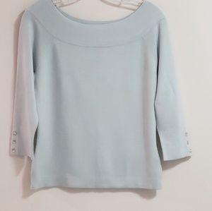 Ann Taylor Sweater, Light Blue, Sz M